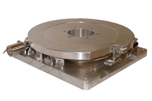 micrometric rotary table